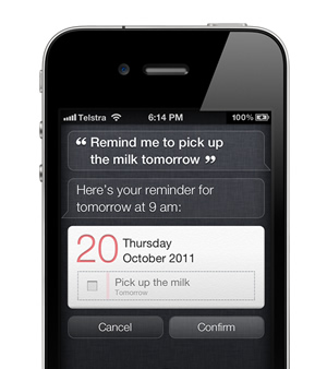 Add tasks to Remember The Milk with Siri