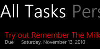 Get My Tasks