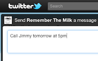 Remember The Milk for Twitter